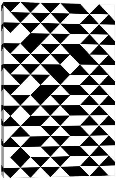Triangle Pattern Canvas Art Print