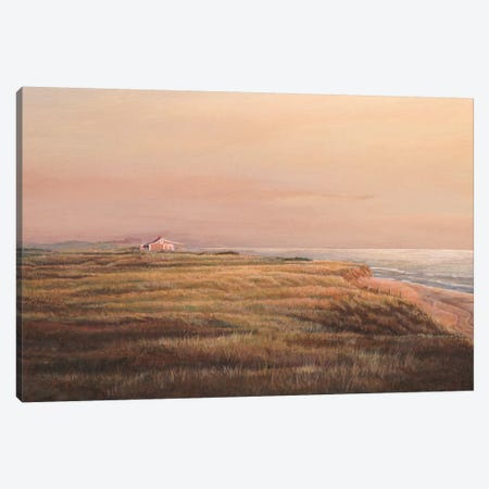 Cisco Sunset Canvas Print #TMI10} by Tom Mielko Canvas Wall Art