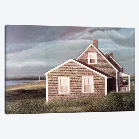 Crooked House Canvas Print #TMI13} by Tom Mielko Canvas Art
