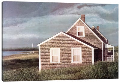 Crooked House by Tom Mielko Canvas Art Print
