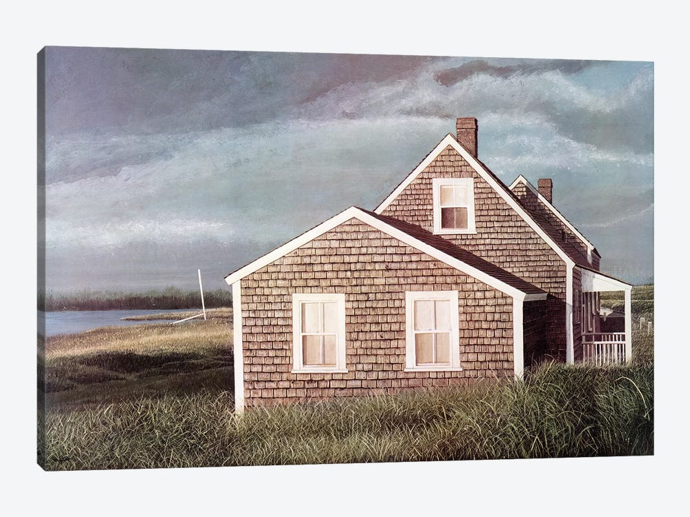 Crooked House by Tom Mielko 1-piece Art Print