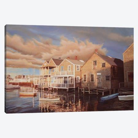 First Light Canvas Print #TMI16} by Tom Mielko Canvas Art Print