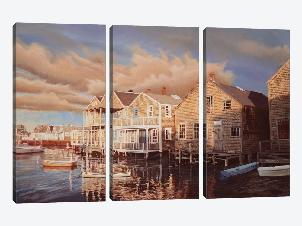First Light by Tom Mielko 3-piece Canvas Wall Art