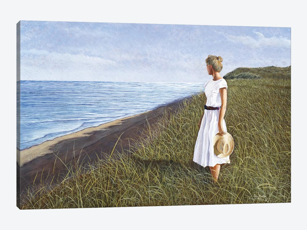 A View of the Sea by Tom Mielko 1-piece Canvas Wall Art