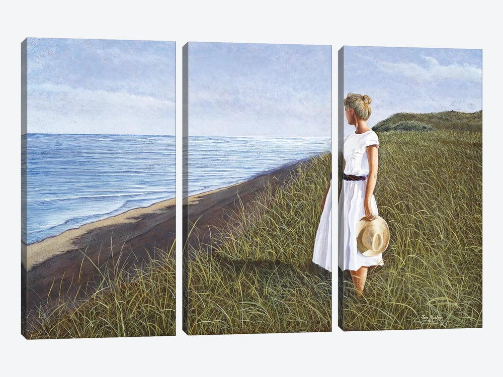 A View of the Sea by Tom Mielko 3-piece Canvas Art