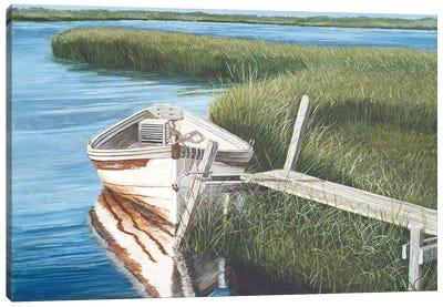Harbor Secrets  Canvas Art Print