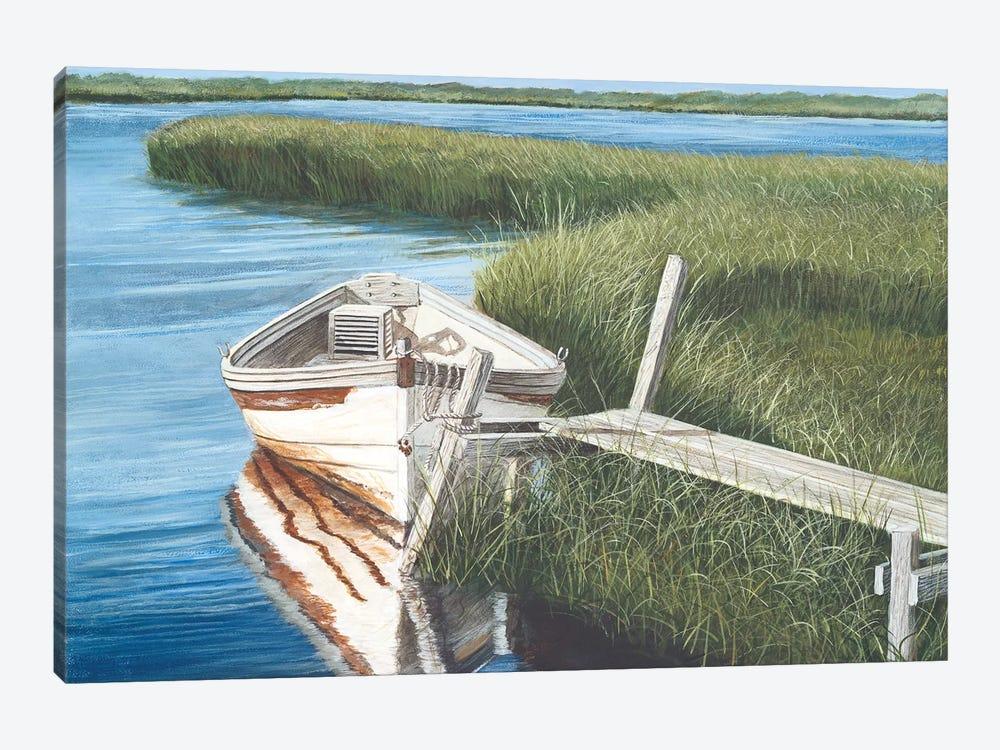 Harbor Secrets  by Tom Mielko 1-piece Canvas Art