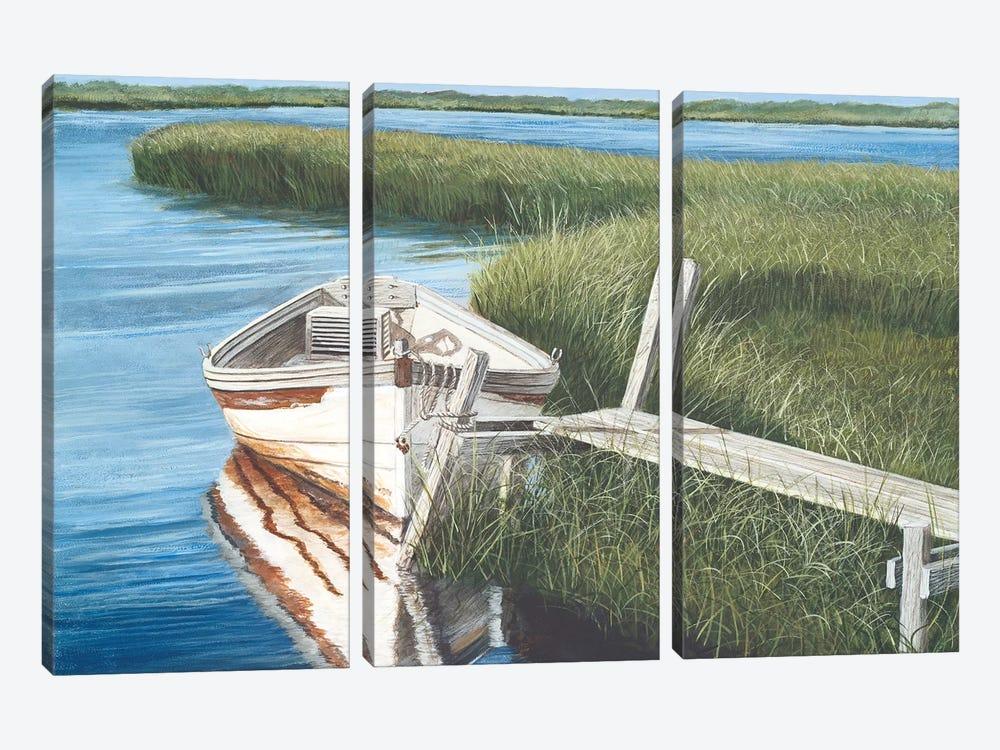 Harbor Secrets  by Tom Mielko 3-piece Canvas Wall Art