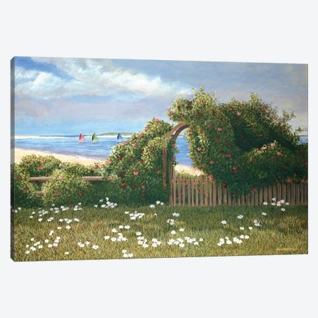 Island Trelli Canvas Print #TMI24} by Tom Mielko Canvas Artwork