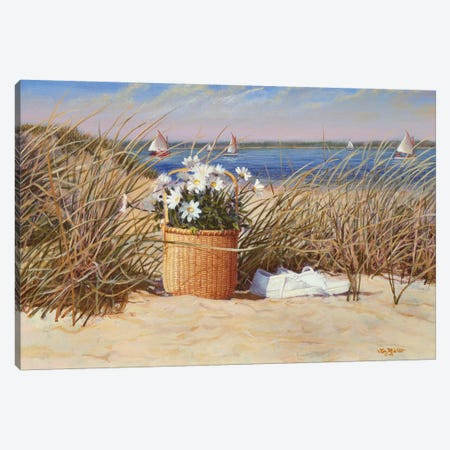 Lazy Days of Summer Canvas Print #TMI27} by Tom Mielko Canvas Artwork