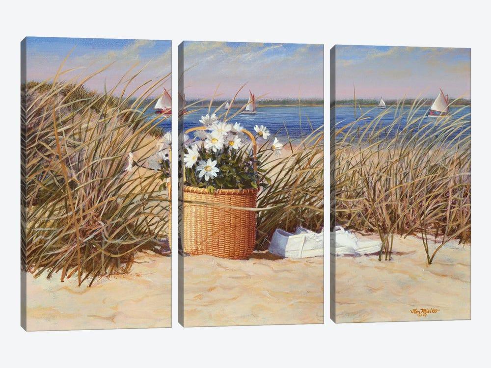 Lazy Days of Summer by Tom Mielko 3-piece Canvas Art