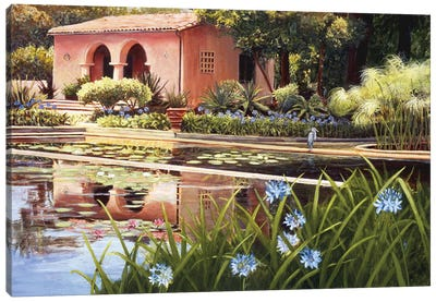 Lotus Land Canvas Art Print
