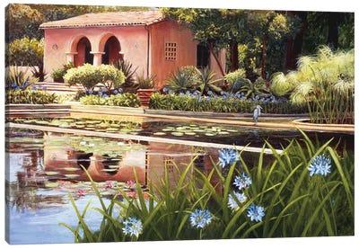 Lotus Land Canvas Art Print