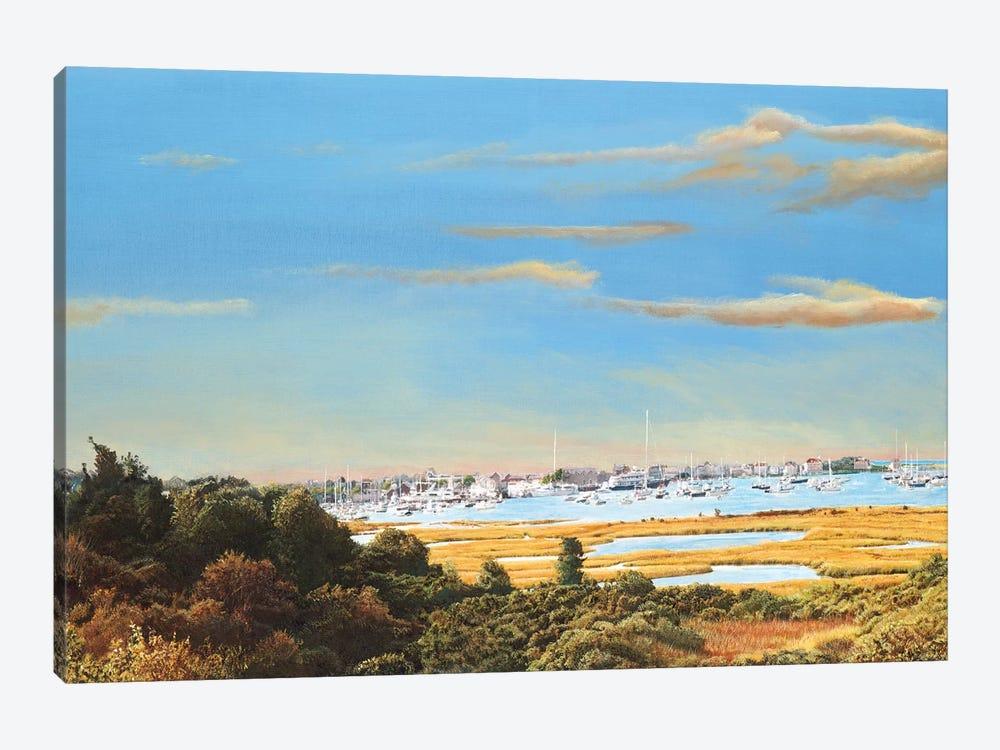 Nantucket Marina by Tom Mielko 1-piece Canvas Wall Art