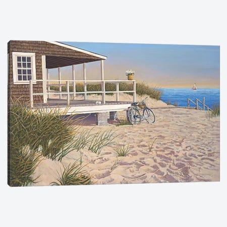 No Parking Canvas Print #TMI33} by Tom Mielko Canvas Wall Art