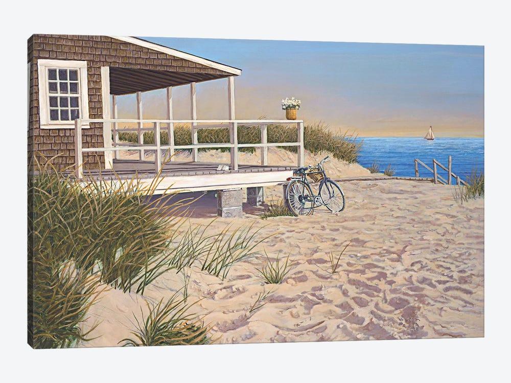 No Parking by Tom Mielko 1-piece Canvas Print