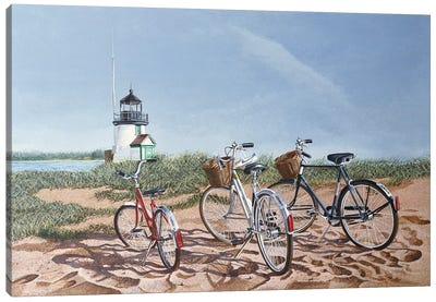 Outing by Tom Mielko Canvas Art Print