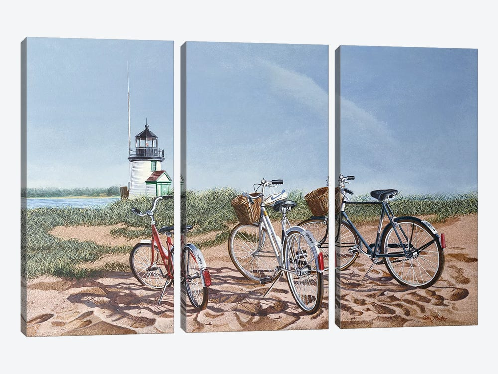 Outing by Tom Mielko 3-piece Canvas Wall Art