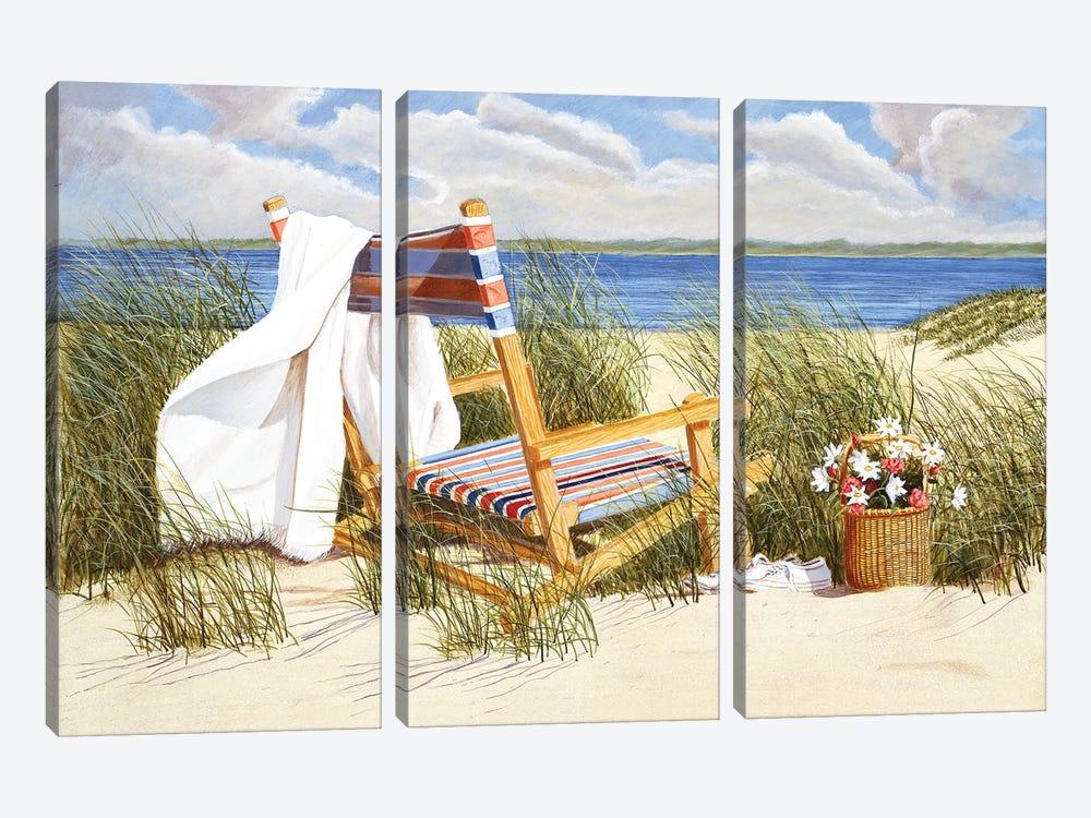 Romantic Hideaway by Tom Mielko 3-piece Canvas Art