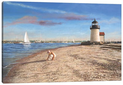 Sea Gems Canvas Art Print