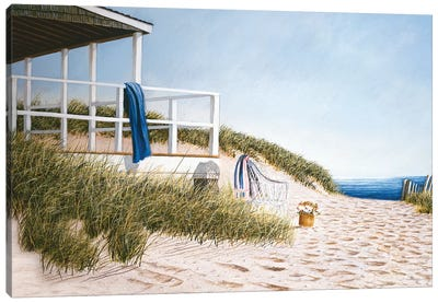 September Escape Canvas Art Print