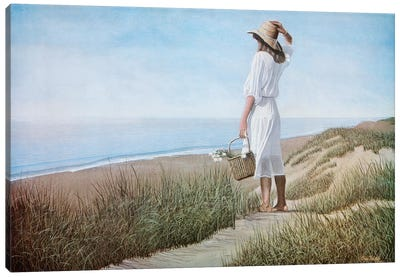 Summer Breeze by Tom Mielko Canvas Art Print