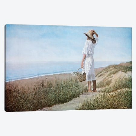 Summer Breeze Canvas Print #TMI45} by Tom Mielko Canvas Wall Art