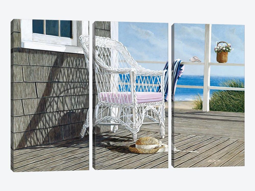 Summer Dreams by Tom Mielko 3-piece Canvas Print