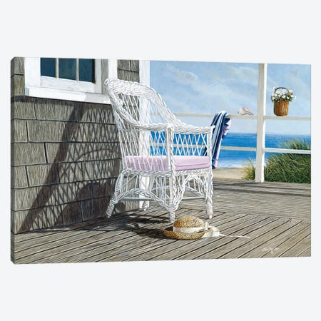 Summer Dreams Canvas Print #TMI46} by Tom Mielko Canvas Wall Art