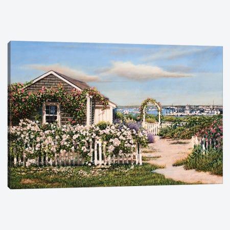 Summer Petals Canvas Print #TMI47} by Tom Mielko Canvas Art