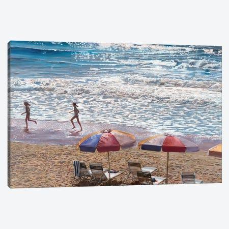 Summer Splash Canvas Print #TMI48} by Tom Mielko Canvas Art Print