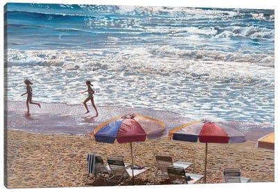 Summer Splash Canvas Art Print