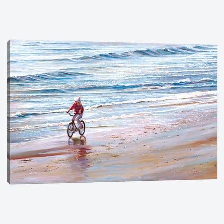 Ashley Beach Canvas Print #TMI4} by Tom Mielko Canvas Wall Art