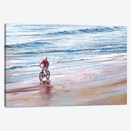 Ashley Beach Canvas Print #TMI4} by Tom Mielko Canvas Wall Art