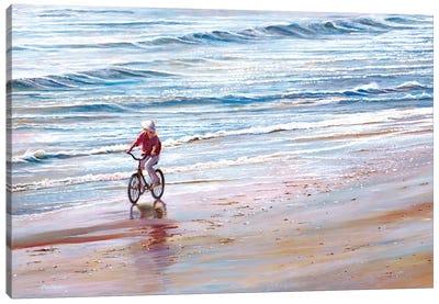 Ashley Beach Canvas Art Print