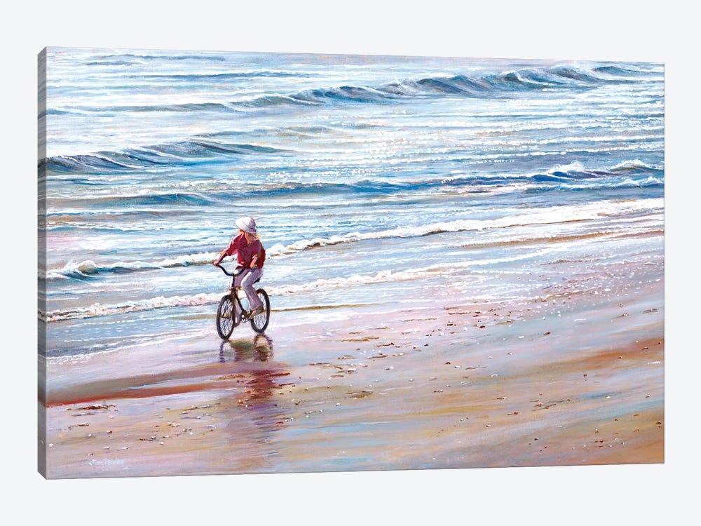 Ashley Beach by Tom Mielko 1-piece Canvas Art Print
