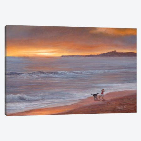 Sunset Canvas Print #TMI51} by Tom Mielko Canvas Wall Art