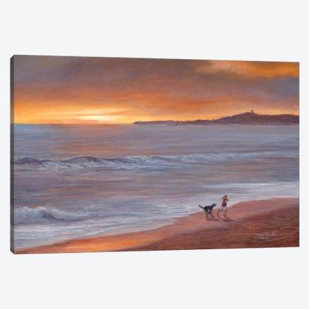 Sunset Canvas Print #TMI51} by Tom Mielko Canvas Wall Art