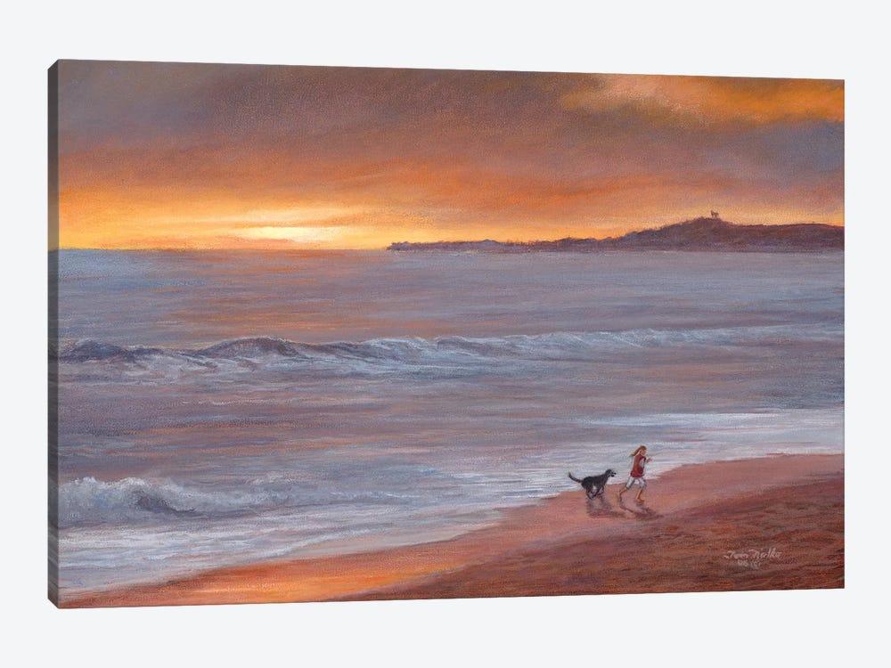 Sunset by Tom Mielko 1-piece Canvas Print