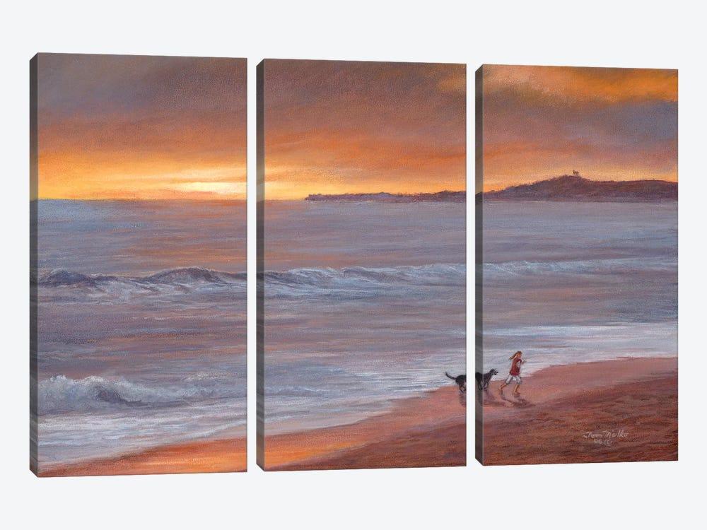 Sunset by Tom Mielko 3-piece Art Print