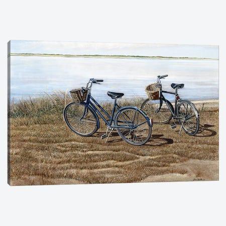 Water's Edge Canvas Print #TMI54} by Tom Mielko Canvas Art Print