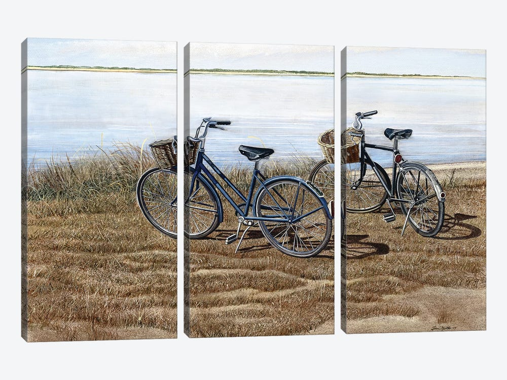 Water's Edge by Tom Mielko 3-piece Canvas Artwork
