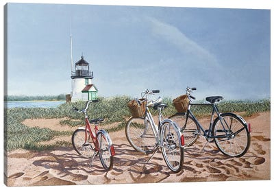 Weekend Outing Canvas Art Print