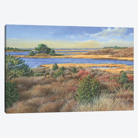 Autumn View Canvas Print #TMI5} by Tom Mielko Canvas Art