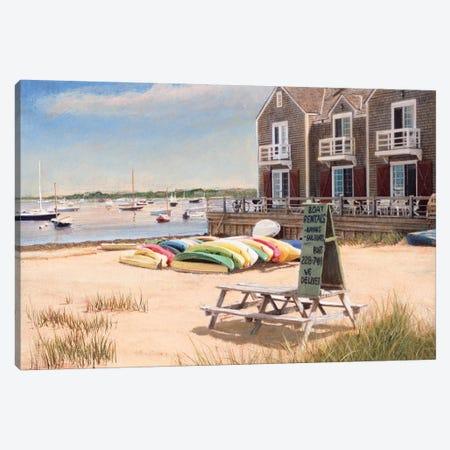 Boat Rentals Canvas Print #TMI8} by Tom Mielko Canvas Print