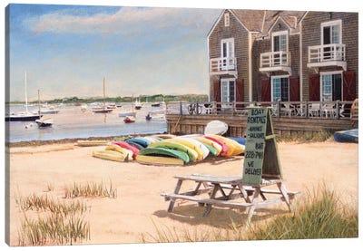 Boat Rentals Canvas Art Print