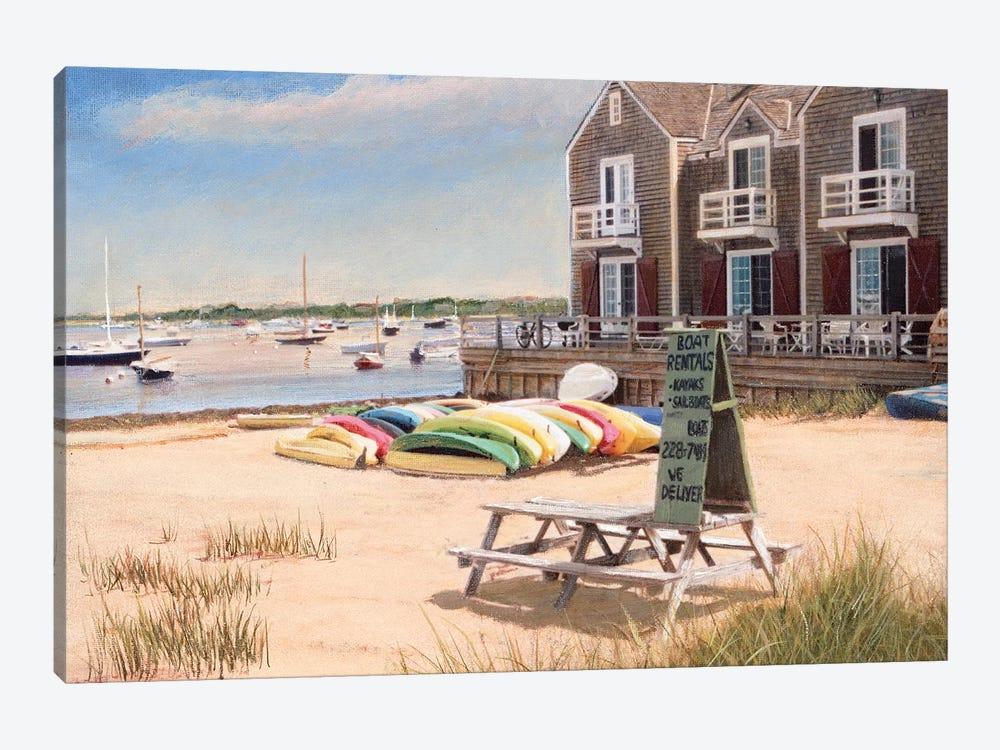 Boat Rentals by Tom Mielko 1-piece Canvas Art Print
