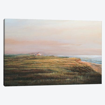 Cisco Sunrise Canvas Print #TMI9} by Tom Mielko Canvas Art Print