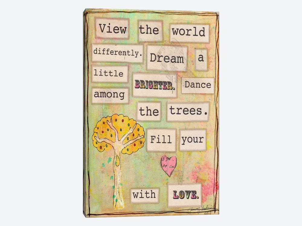 View the World by Tammy Kushnir 1-piece Canvas Wall Art