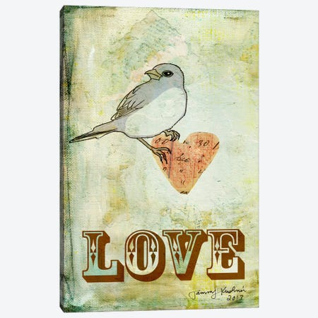 Love Canvas Print #TMK14} by Tammy Kushnir Canvas Art Print